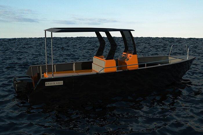 HDPE-DIVE SUPPORT 7m